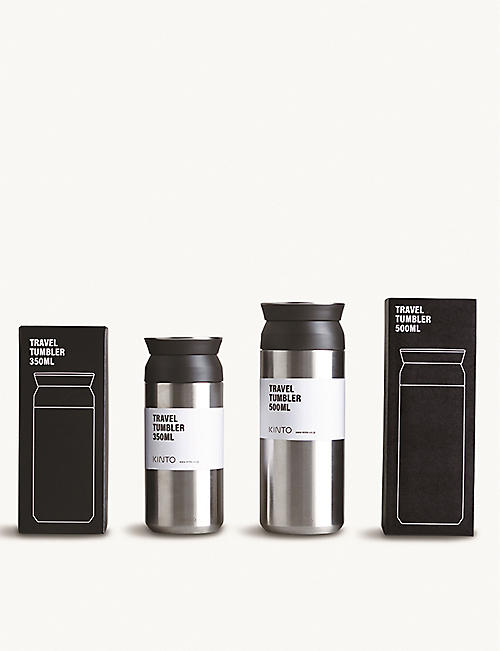 KINTO: Travel stainless steel travel tumbler 350ml