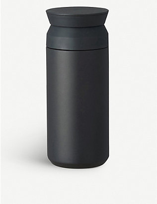 KINTO: Stainless steel thermos travel tumbler 350ml
