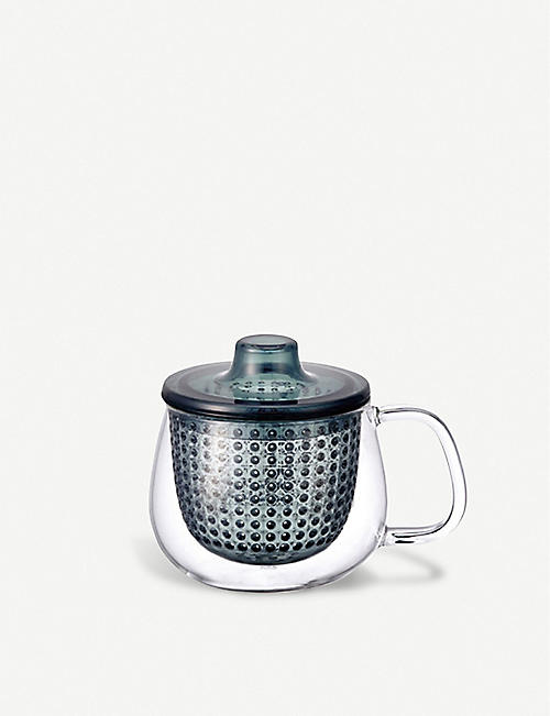 KINTO: Unimug glass mug and strainer