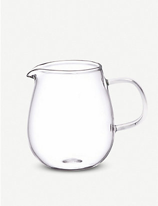 KINTO: Unitea glass milk pitcher 180ml