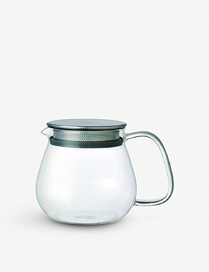 KINTO Unitea one touch glass teapot 460ml
