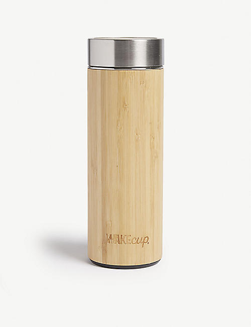 WAKECUP Bamboo reusable water bottle 450ml