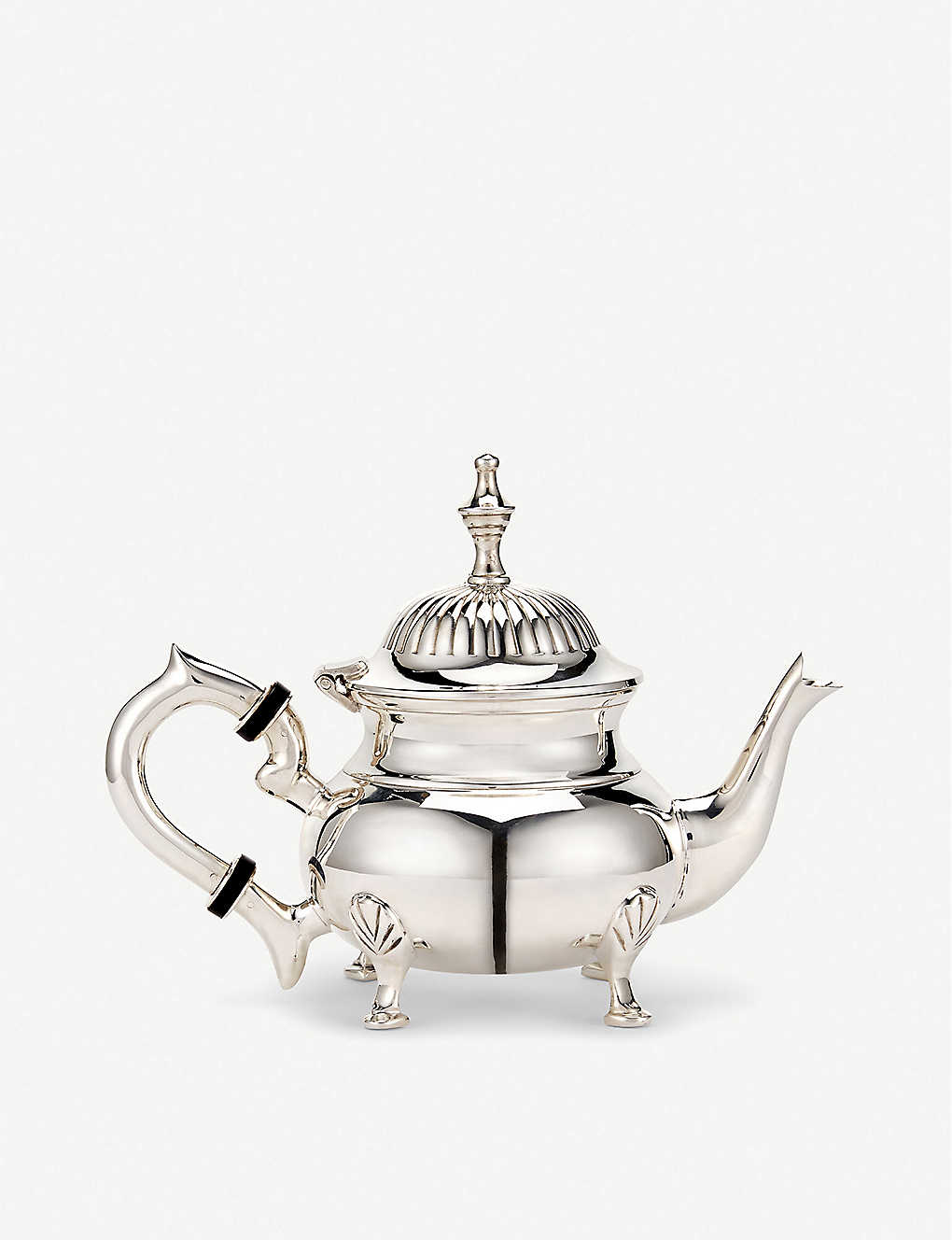 THE WOLSELEY: Silver-plated teapot 15cm