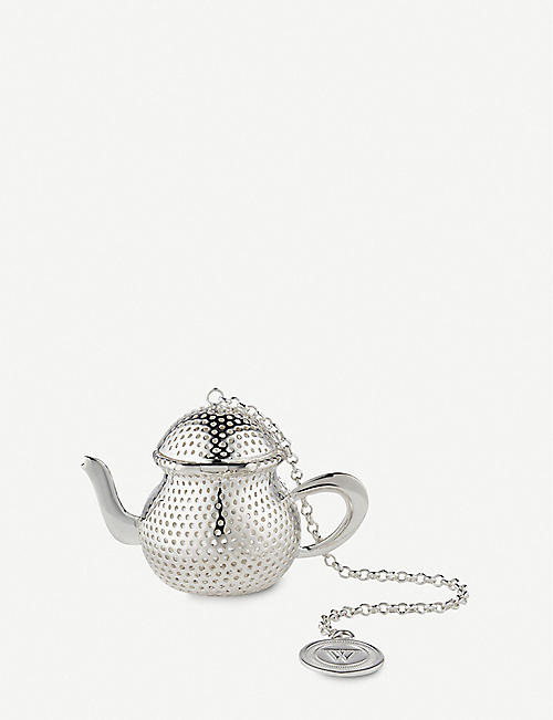 THE WOLSELEY Silver-plated tea infuser