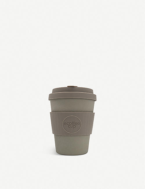 ECOFFEE CUP Reusable bamboo fibre coffee cup 340ml