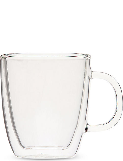 BODUM Bistro Double Wall glass espresso mug