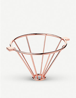 BARISTA & CO: Corral stainless-steel pour-over coffee stand