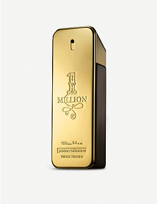 PACO RABANNE: 1 million eau de toilette 100ml