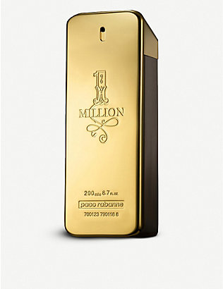 PACO RABANNE: 1 million eau de toilette 200ml