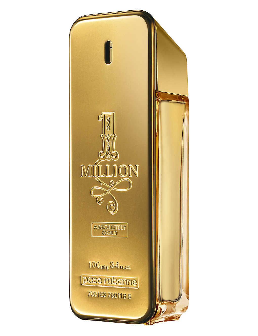 3f235a617a PACO RABANNE - 1 Million Absolutely Gold eau de parfum 100ml ...