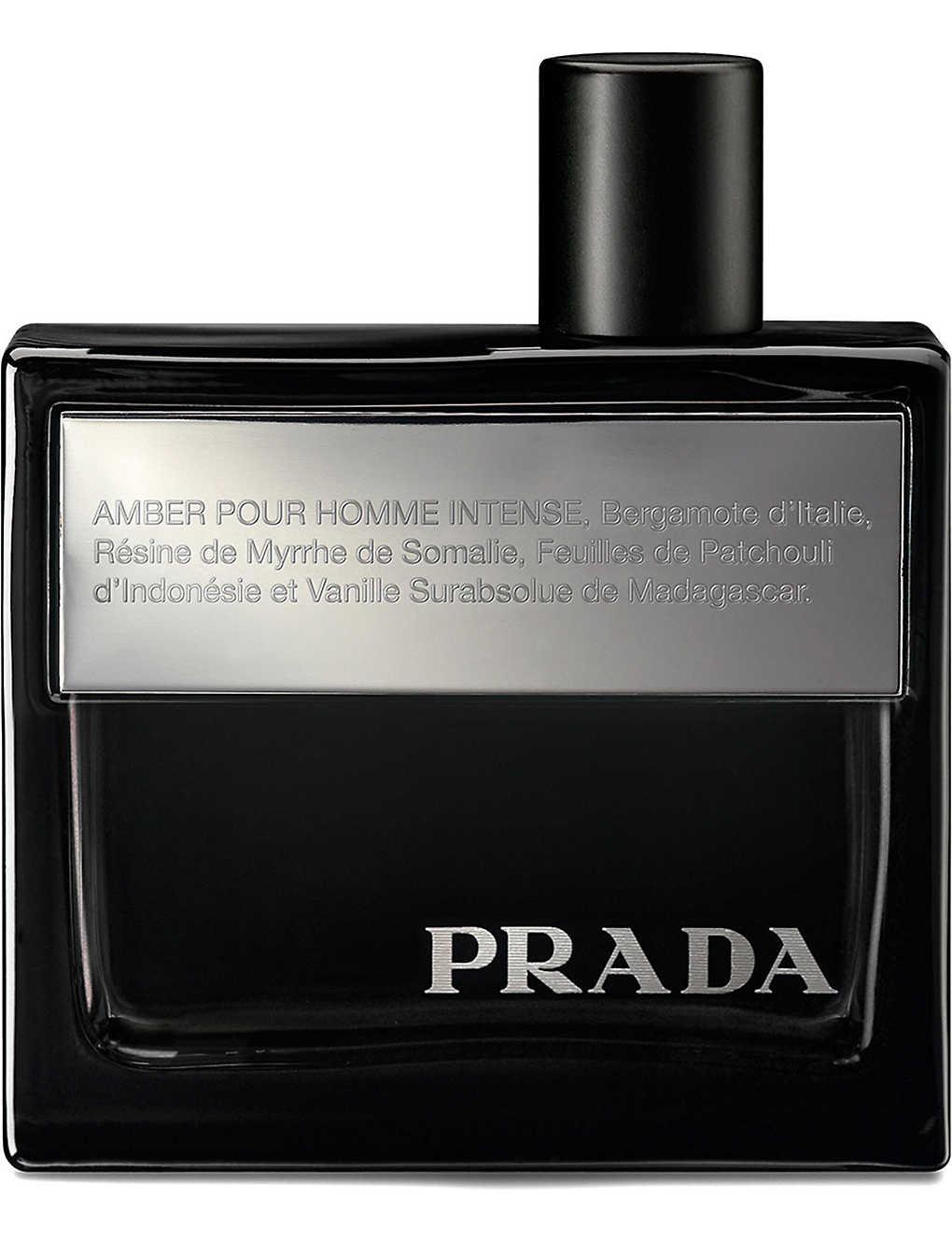 De Eau Intense Parfum Homme Amber Prada CtshdQr