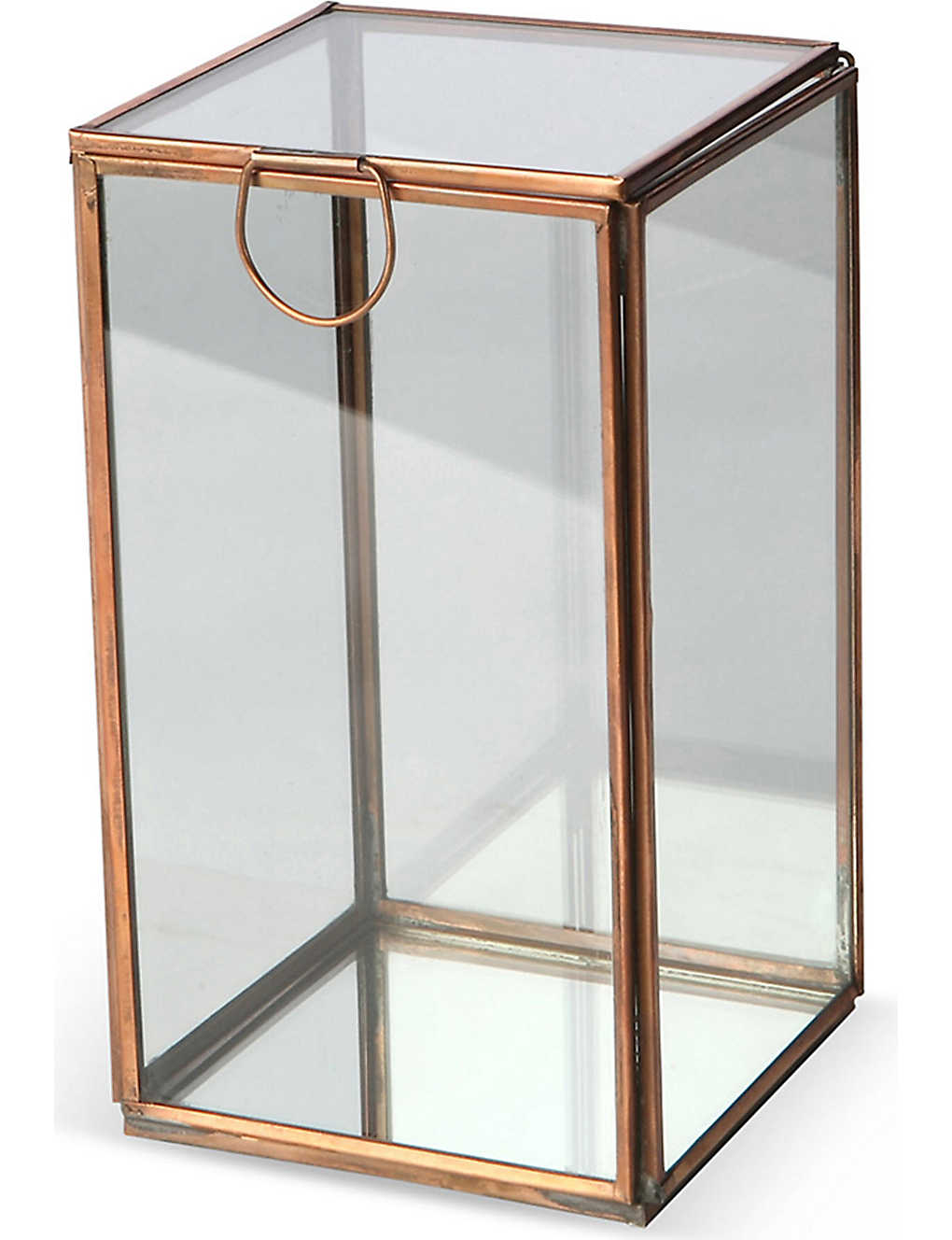 CULINARY CONCEPTS - Glasshouse medium copper candle holder