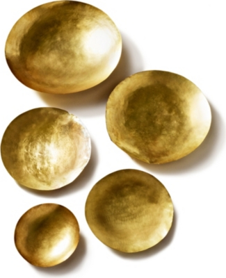 TOM DIXON Form set of five large bowls