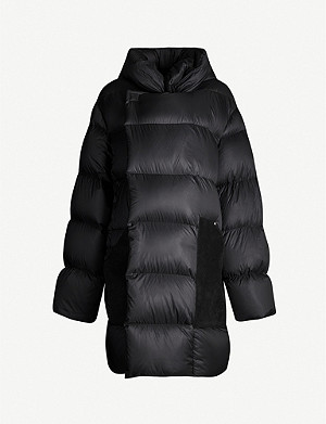 RICK OWENS Sisy quilted padded shell jacket