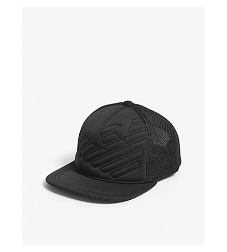 796ac5b3d3a EMPORIO ARMANI - Quilted eagle snapback cap
