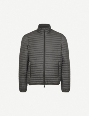 EMPORIO ARMANI Quilted shell-down jacket