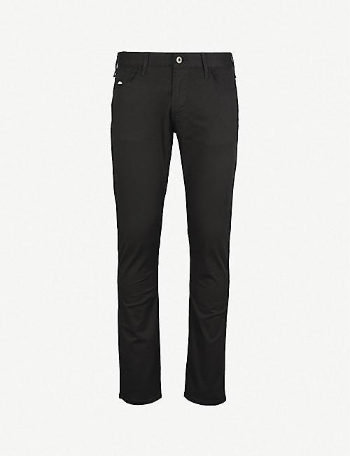 e80454e3b72 EMPORIO ARMANI J06 slim-fit straight jeans