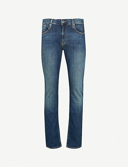 af746d16 EMPORIO ARMANI - Jeans - Clothing - Mens - Selfridges | Shop Online