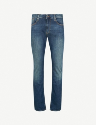 EMPORIO ARMANI J06 slim-fit straight jeans