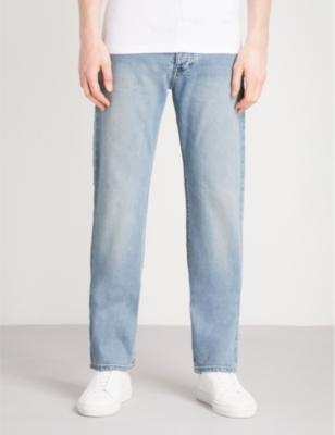 aa96879dcb39 EMPORIO ARMANI - J21 regular-fit straight jeans