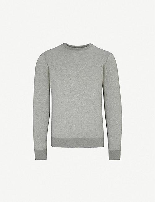 3a40ce119f18 EMPORIO ARMANI Crewneck jersey sweatshirt