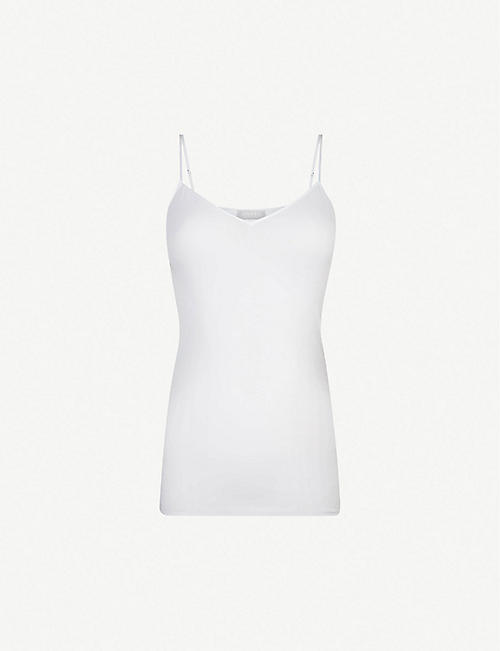 HANRO: Seamless cotton camisole