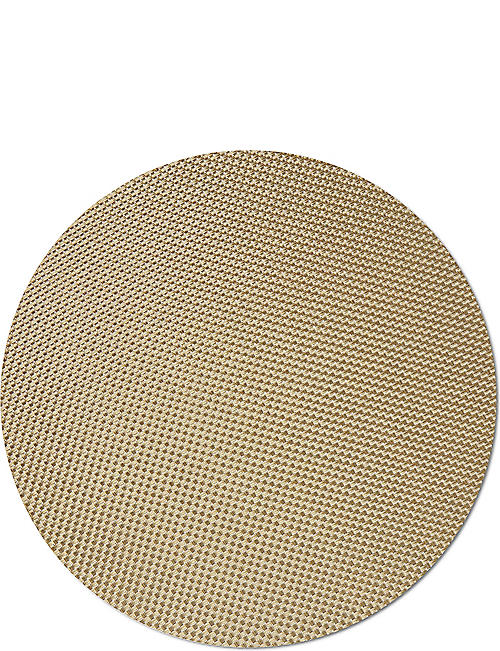CHILEWICH: Basketweave round placemat