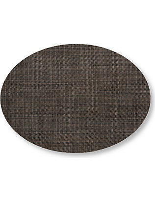 CHILEWICH: Mini Basketweave oval placemat