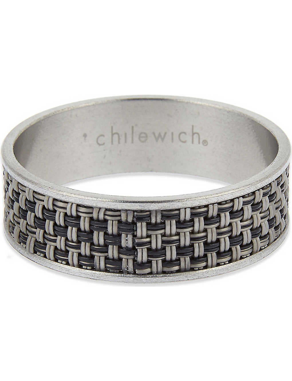 CHILEWICH: Mini Basketweave napkin ring