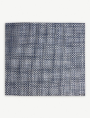 CHILEWICH Basketweave rectangular placemat 33x35cm