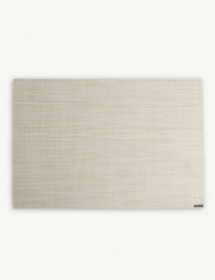 CHILEWICH Basketweave rectangular placemat 36x48cm