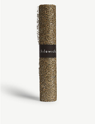 CHILEWICH: Metallic lace table runner