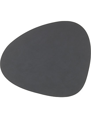 LIND DNA: Curve nupo anthracite table mat