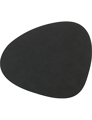LIND DNA: Curve leather table mat