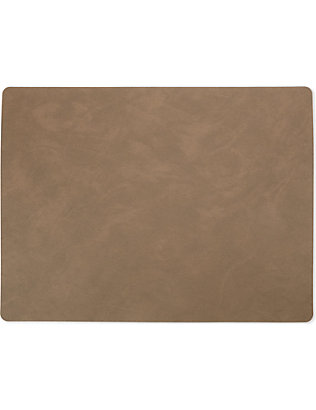 LIND DNA: Leather placemat