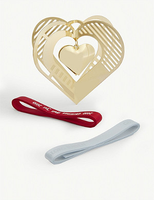 GEORG JENSEN 2019 mobile heart ornament 8.6cm x 10cm