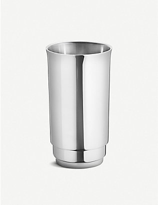 GEORG JENSEN: Manhattan stainless steel wine cooler
