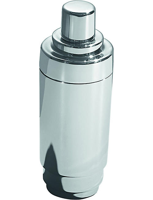GEORG JENSEN: Manhattan stainless steel cocktail shaker 0.75L