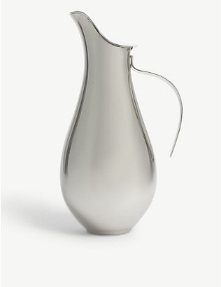 GEORG JENSEN: ILSE stainless steel pitcher 1.2l