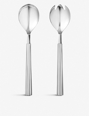 GEORG JENSEN Bernadotte stainless steel salad servers 23cm