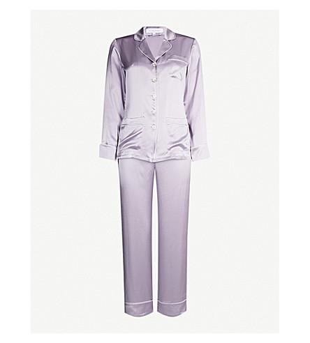OLIVIA VON HALLE Coco Wisteria silk pyjama set (Wisteria 679b23fdc