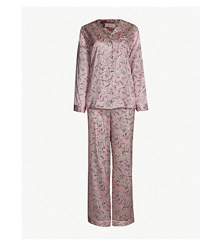 YOLKE Marianne stretch-silk pyjama set (Marianne+scarlet+rose 23ca380c2