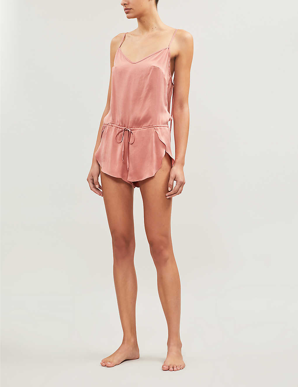 Organic Silk Playsuit