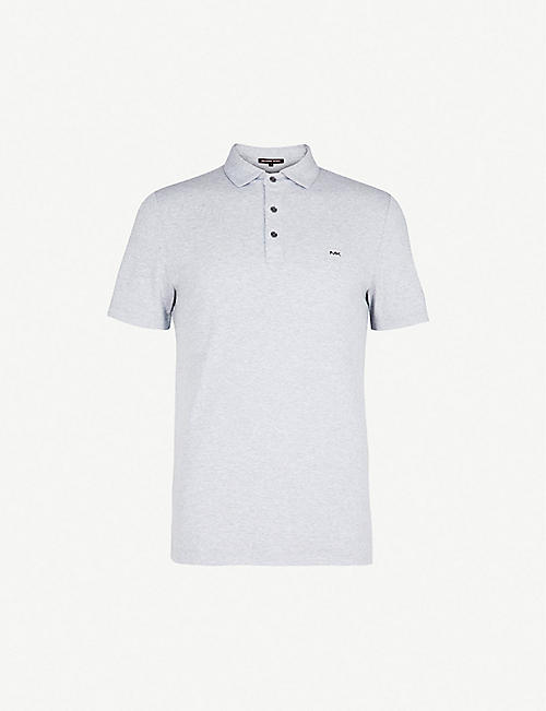 7a4c5756 MICHAEL KORS Short-sleeved cotton-jersey polo shirt