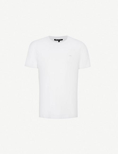 140b68ec9d MICHAEL KORS Crewneck cotton-jersey t-shirt