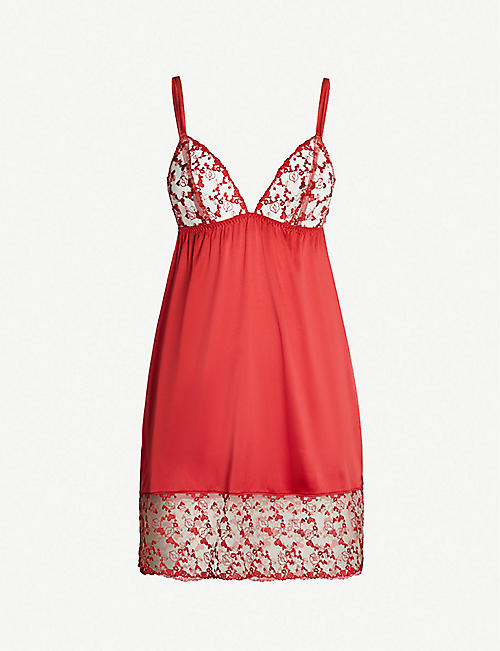 83d22c21a PLAYBOY BY COCO DE MER Kiss Me mesh slip dress