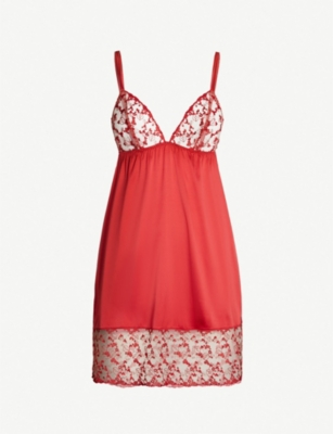 PLAYBOY BY COCO DE MER Kiss Me mesh slip dress