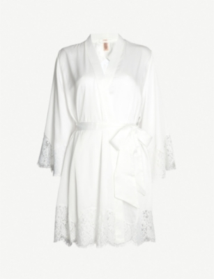 PALINDROME Grandiose satin robe