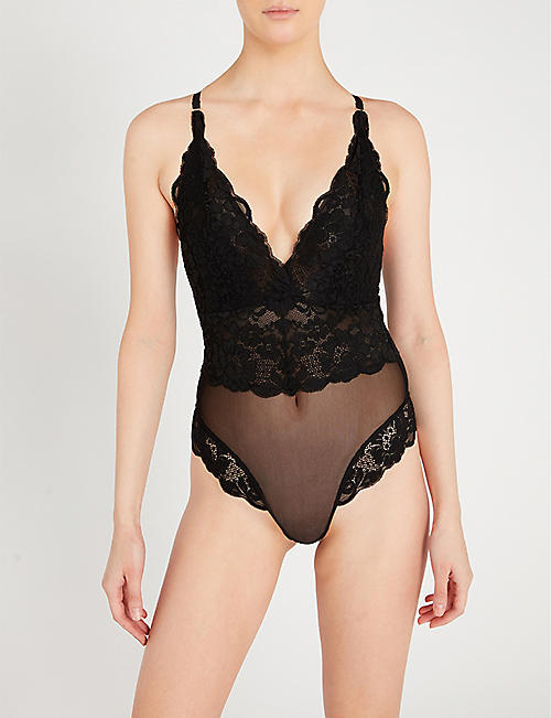 WE ARE HAH Smarty Pants stretch-lace body