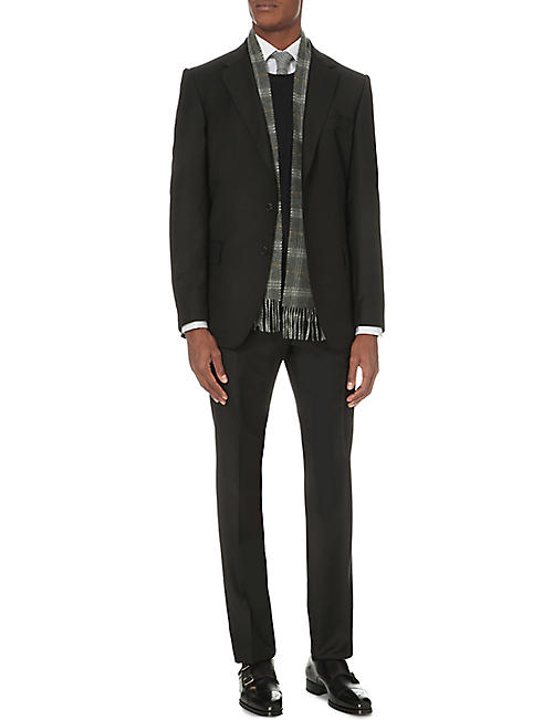 GIEVES & HAWKES Regular-fit twill blazer